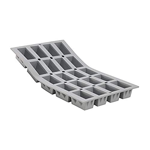 De Buyer 1868.01 Elastomoule Mould for 20 Mini Cakes von DE BUYER