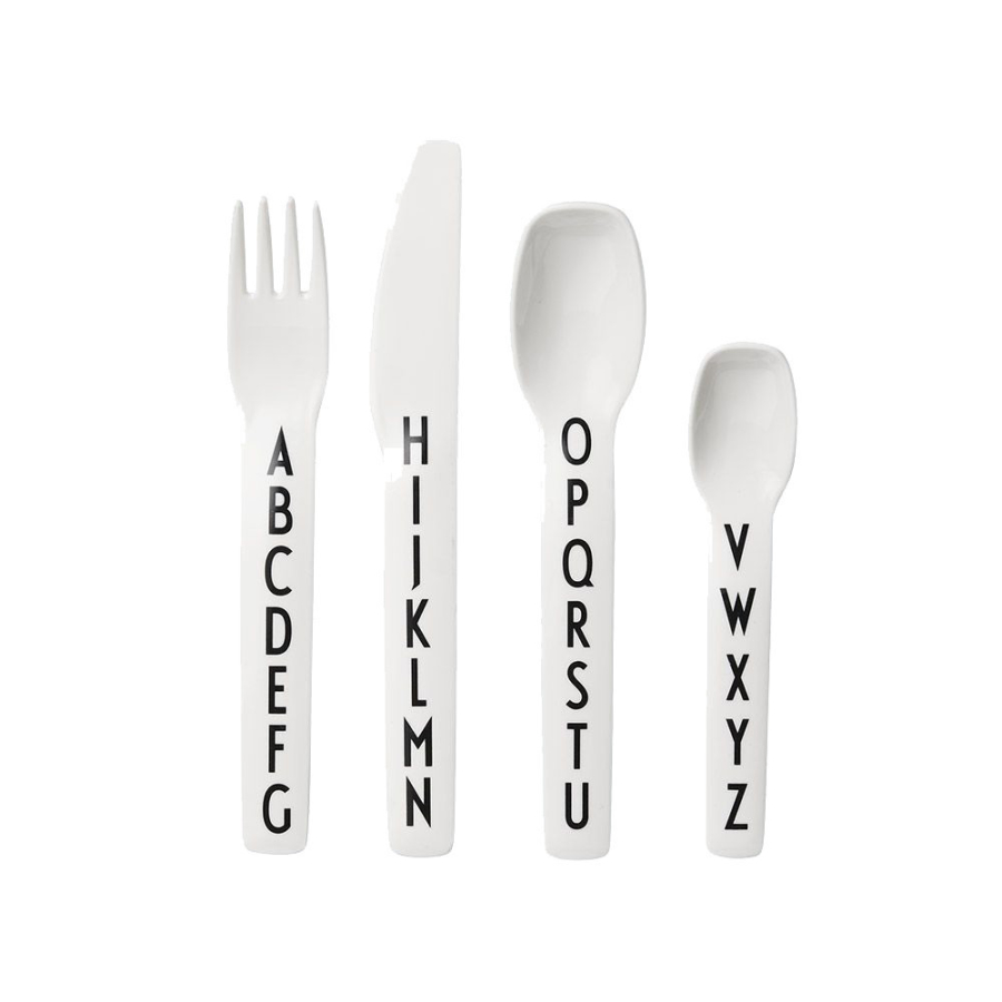Design Letters Kids cutlery-set Besteck-Set 4-teilig von Design Letters