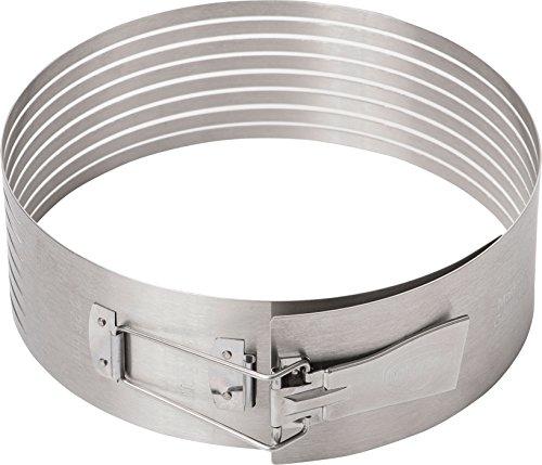 flexibel verstellbar Oetker Tortenring  Ø16- Ø30cm Dr perfekt geeignet für