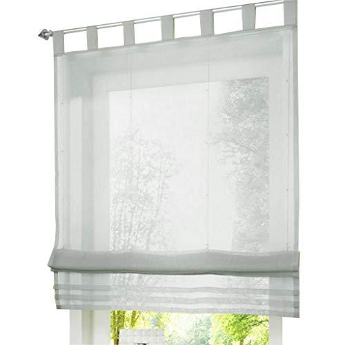 Rollos & Jalousien Fensterdekoration ESLIR Raffrollo mit ...