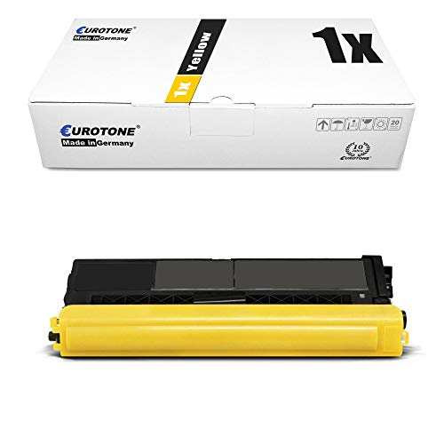 1x Eurotone Toner für Brother MFC-L 9570 Wie TN-910Y TN910Y TN910 TN-910 Yellow von Eurotone, kein Brother Original