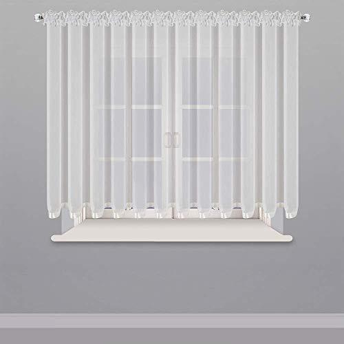 Schöne Fertiggardine aus Voile Gardine LB-235 145x400 Fenstergardine Wohnzimmer