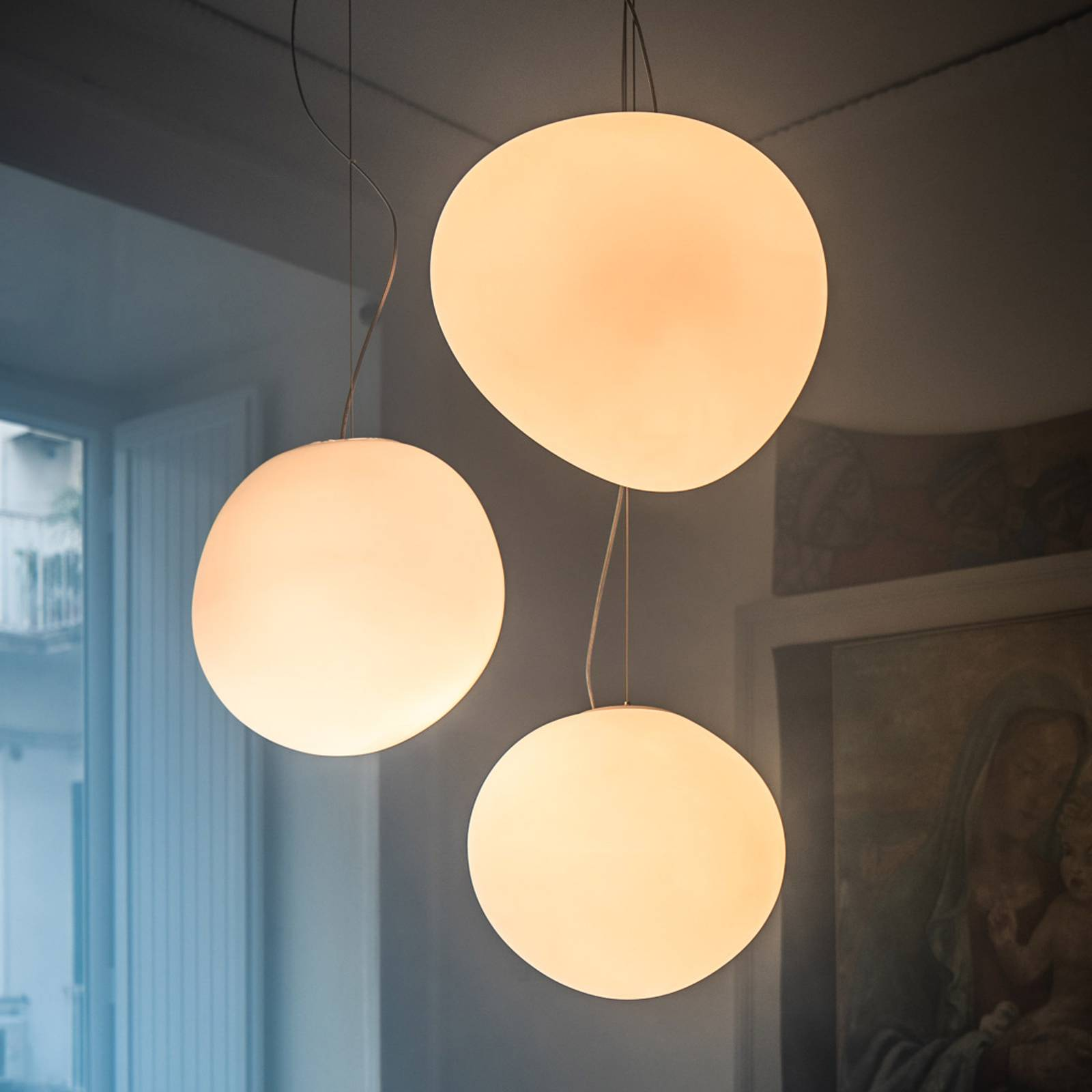 Foscarini MyLight Gregg media LED-Hängeleuchte von FOSCARINI