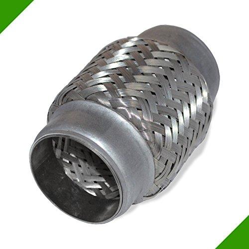 Flexrohr Flexibles Rohr Auspuff Rohrverbinder Flexst/ück Hosenrohr Auspuffrohr /Ø 40x150mm