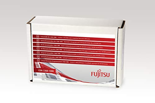 FUJITSU Includes 1x Pick Roller and 2X Separation Pads Estimated Life Up to 100K scans von Fujitsu