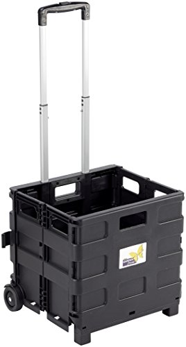 Garden Friend c1299040 Wagen Transport, Schwarz, 38 x 33 x 36 cm von GARDEN FRIEND