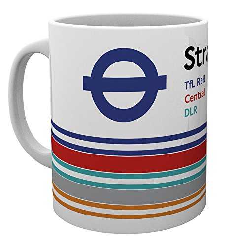 GB eye Ltd Transport for London, Stratford, Tasse, Keramik, Verschiedene, 15 x 10 x 9 cm von GB eye Ltd