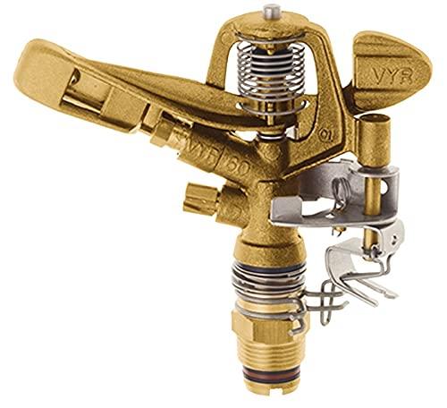 Gold//Silber 48x28x28 cm GEKA Kreis-Regner V 35 S mit Stativ