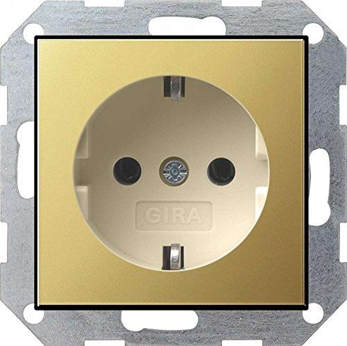 250 V Gira 78303 Doppelsteckdose SCHUKO 078303 KS System 55 reinweiss Wei/ß
