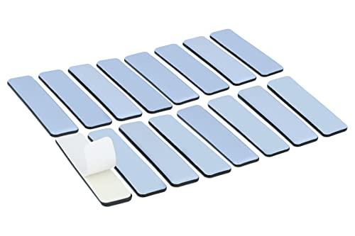 ultra d/ünn nur 1,5mm PTFE Dekogleiter GLEITGUT 16 x Teflongleiter rund selbstklebend /Ø 17 mm