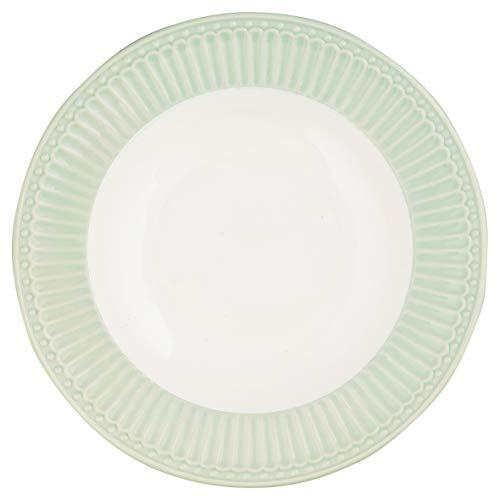 Teller Josephine weiße Blume grünes Band weitere Rosenthal Speiseteller 25,5cm