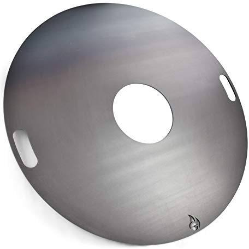 Feuerplatte | Grillring | Grillplatte | Plancha   Universalgröße Für  Stahlfässer, Öltonnen Stahltonnen Oder Große Kugelgrills   Der Neue  Grill Trend (Ø 80 ...
