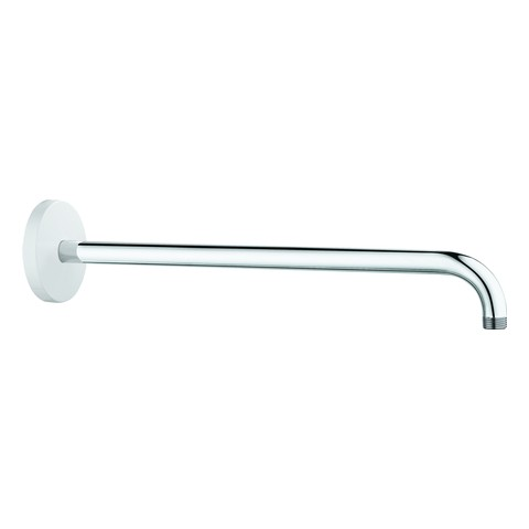 GROHE Rainshower Brausearm Metall 26146 Ausladung 422mm moon white/chrom, 26146LS0 26146LS0 von Grohe