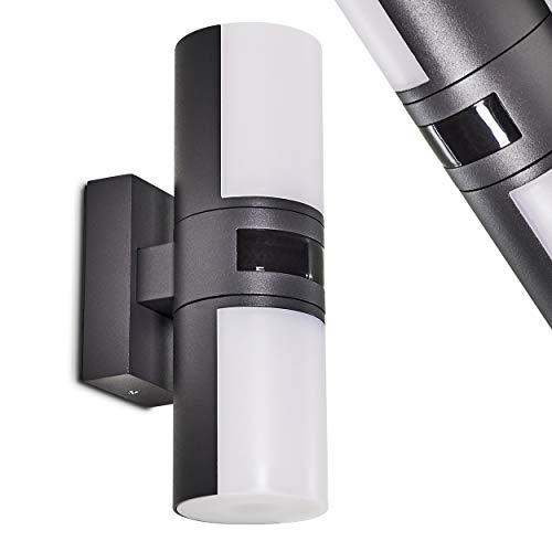 110 Lumen Lunartec Spots: LED-Wandspot m 1 Watt warmwei/ß 3.000 K Aluminium-Geh/äuse Badezimmer Lampe