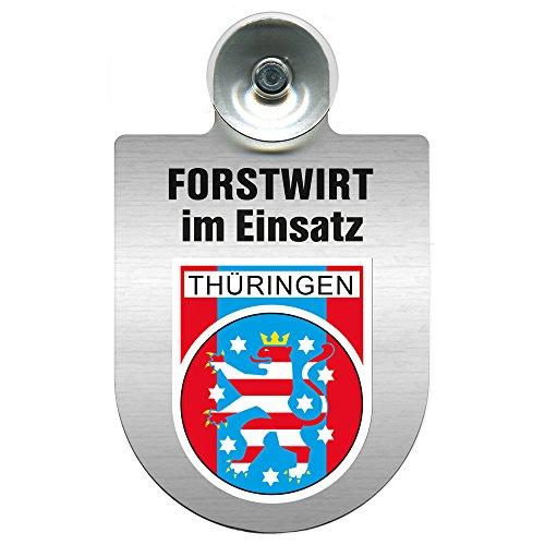 Einsatzschild fuer Windschutzscheibe Alu Schild Imker im Einsatz 309382