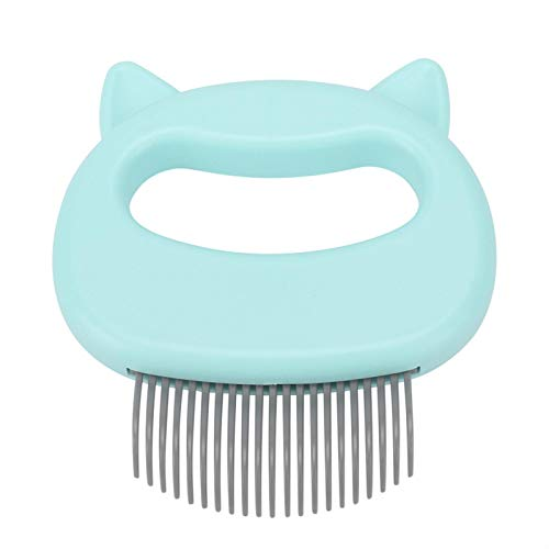 Pet Cat Dog Massage Shell Comb Pflege Haarentfernung Shedding Reinigungsbürste für Dog Cat(Grün) von Hancend