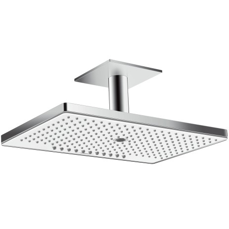 Hansgrohe Kopfbrause Rainmaker Select 460 3jet Deckenmontage weiss/chrom, 24006400 24006400 von Hansgrohe