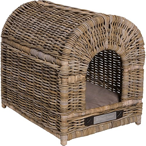 Happy House Rattan Doghouse von Happy House