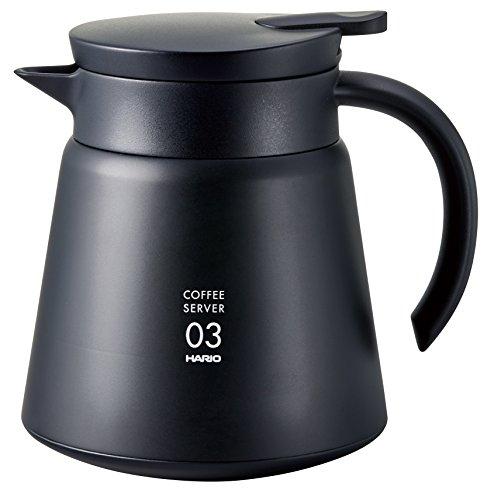 Hario FIHU-2012-PGR-EX Teekanne Glas grau