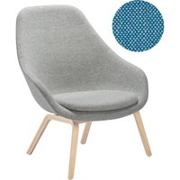HAY - About A Lounge Chair High AAL 93 - Hallingdal 840 - Eiche geseift - indoor von Hay