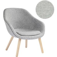 HAY - About A Lounge Chair Low AAL 82 - Hallingdal 110 - Eiche geseift - indoor von Hay