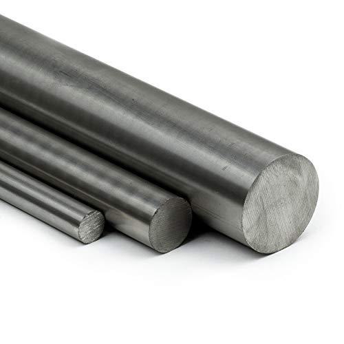 PVC Rundstab grau /Ø 60mm L: 500mm PVC-U Kunststoffstab auf Zuschnitt 50cm
