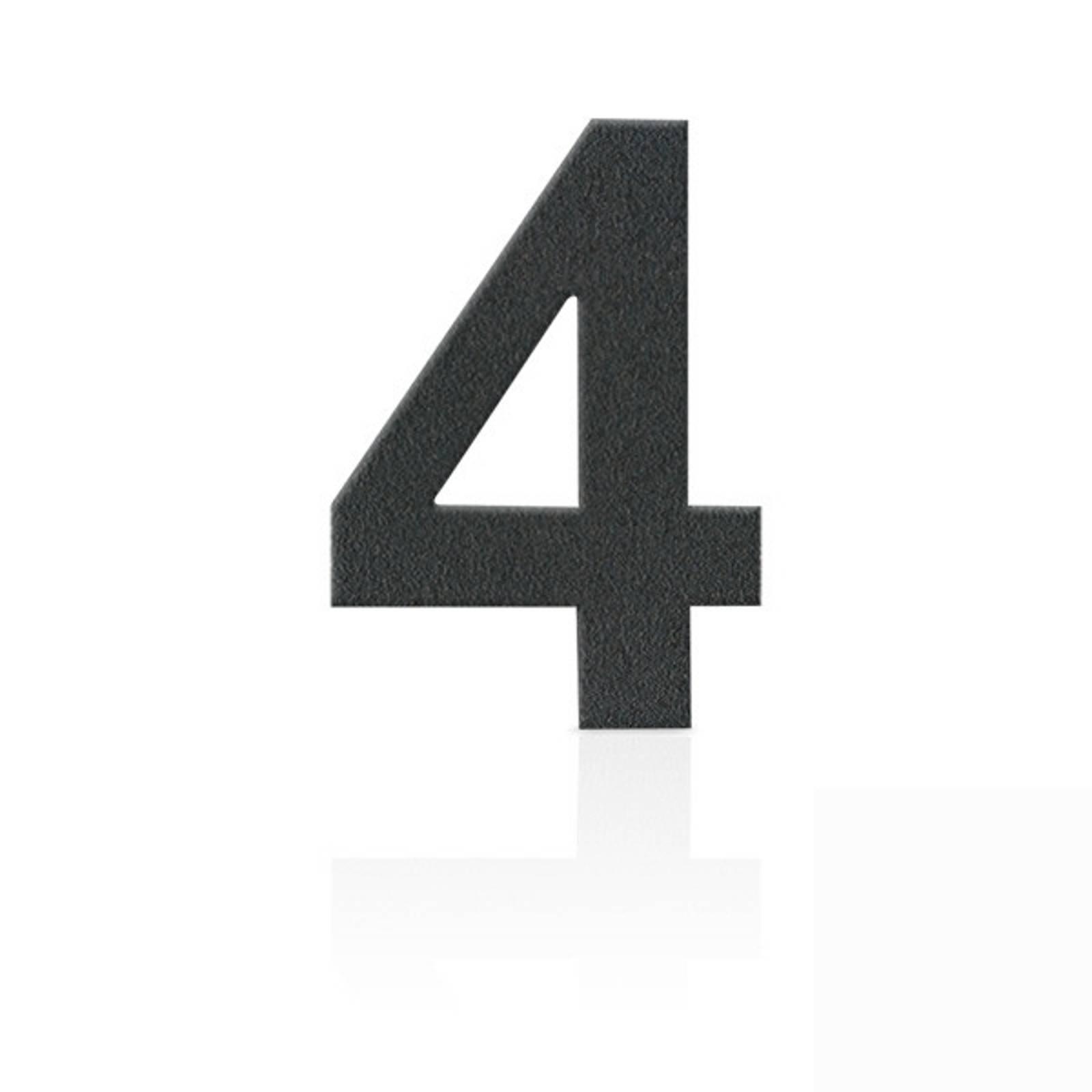 3D Design Metafranc Hausnummer 9 Individuelle Kombinationsm/öglichkeiten // Beschriftung // Kennzeichnung // Ziffer // Haust/ür // Hauswand // Gartentor // 424087 Edelstahl Gute Lesbarkeit 120 mm