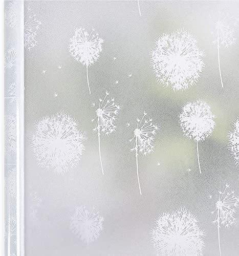 Homein Fensterfolie Selbsthaftend 3D Fenster Dekorfolie Sichtschutzfolie Folie f/ür Sichtschutz Blickdicht Durchsichtig Glast/ür Selbstklebend Lichtspiel Motiv Glanzoptik Farbig Bruchglas 44.5 x 200 cm