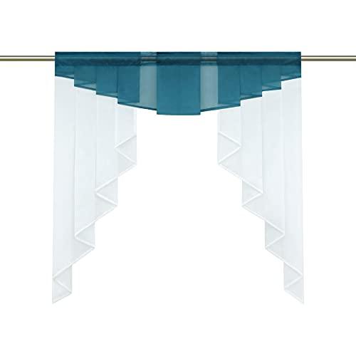 t rkis scheibengardinen und weitere gardinen vorh nge g nstig online kaufen bei m bel garten. Black Bedroom Furniture Sets. Home Design Ideas