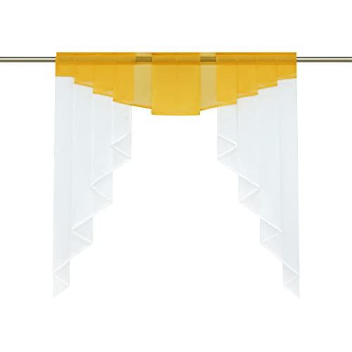 Gelb | Scheibengardinen und weitere Gardinen & Vorhänge. Günstig
