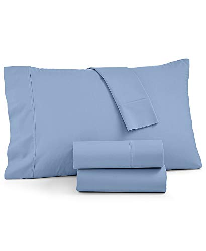 IMPERIAL COLLECTION 600TC Long Staple 100% Cotton Sateen Sheet Set, King, Blue von IMPERIAL COLLECTION