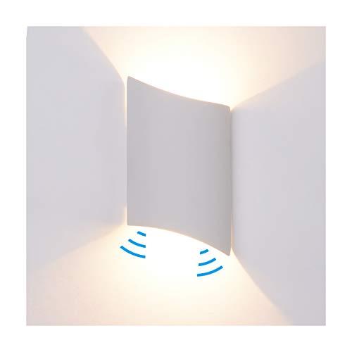 Steellwingsf 4 LED PIR Infrarot-Erkennung Bewegungsmelder Haust/ür Praktische Schl/üsselloch-Lampe Wei/ß