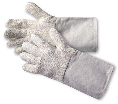 10,5 6 Paar Frottee-Schutzhandschuhe Pizzerien Bäckereien Handschuhe Gr