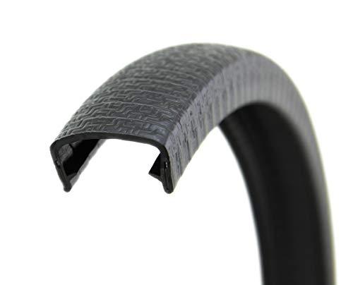 kleine H/öhe 9,5 mm x Klemmbereich 3 mm. Kantenschutz