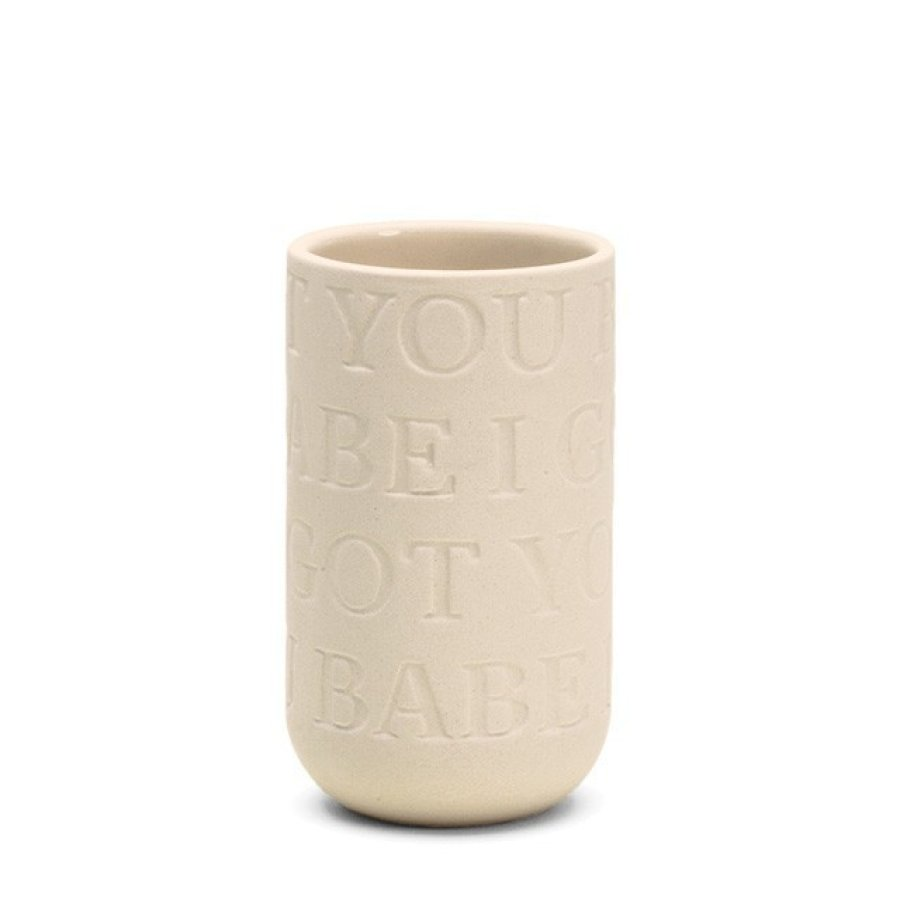Kähler Love Song Vase - I got you babe von Kähler Design