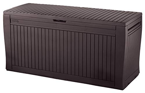 Polypropylen Keter Kunststoff Komposter 320l Farbe schwarz Ma/ße: 65x65x75cm