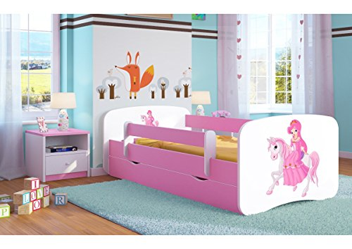 rosa kinderbetten f r m dchen und weitere kinder. Black Bedroom Furniture Sets. Home Design Ideas