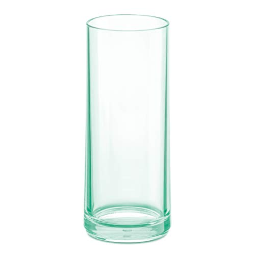 koziol Longdrink Glas 250ml CHEERS NO. 3, Superglas, transparent jade von Koziol