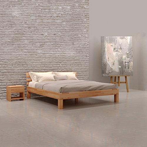 beige massivholzbetten und weitere betten g nstig online kaufen bei m bel garten. Black Bedroom Furniture Sets. Home Design Ideas