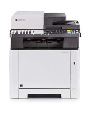 Kyocera Klimaschutz System Ecosys M5521cdn Farblaser Multifunktionsdrucker Drucker, Kopierer, Scanner, Faxgerät Inkl. Mobile-Print-Funktion Amazon Dash Replenishment-Kompatibel von Kyocera