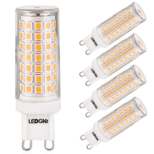 LEDGLE E27 ST64 Vintage Edison LED Gl/ühbirne dimmbar superhell 4W=40W E27 Filament Fadenlampe Warmwei/ß 2700K 360 /° Abstrahlwinkel 6er-Pack