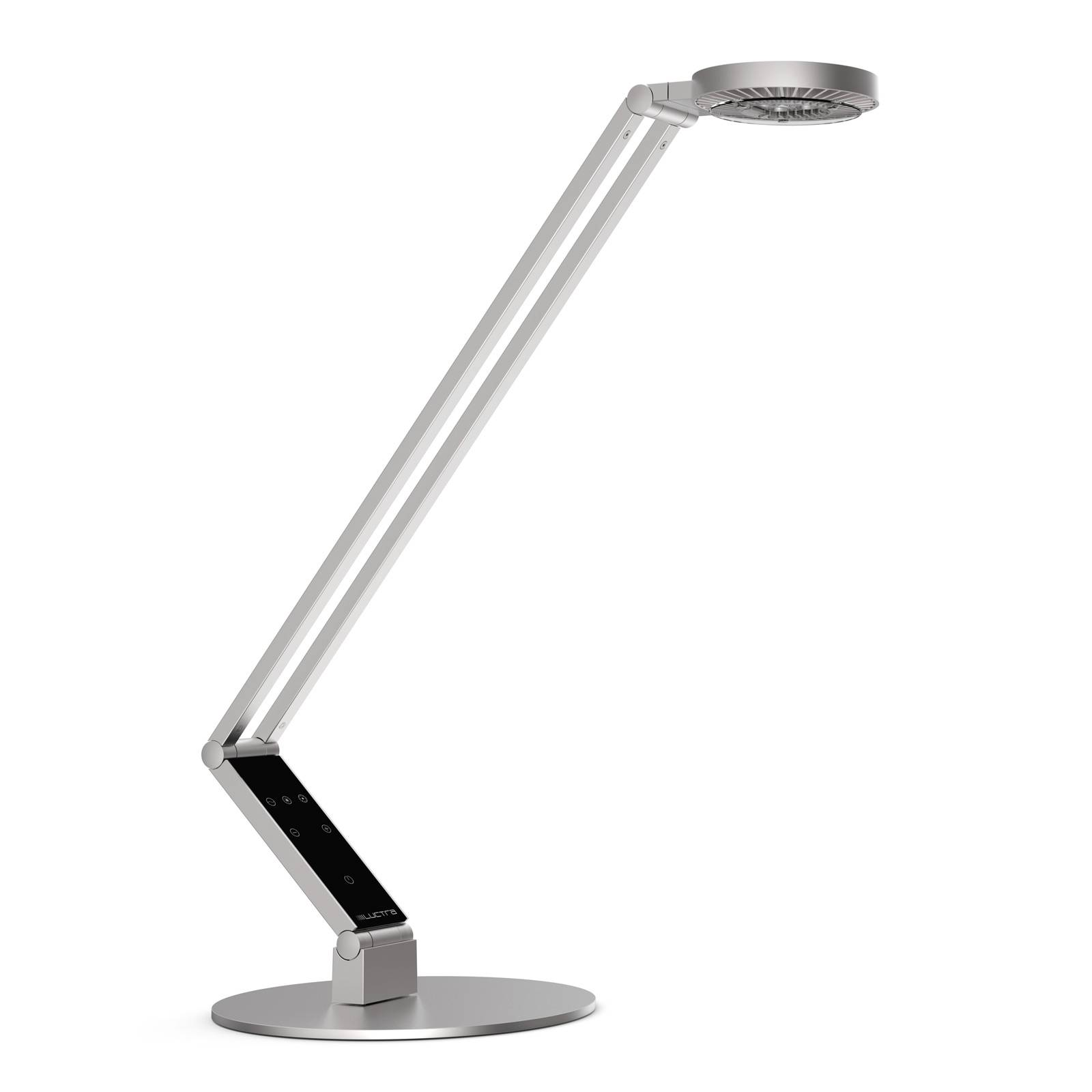 Luctra Table Radial LED-Tischleuchte Fuß alu von Luctra