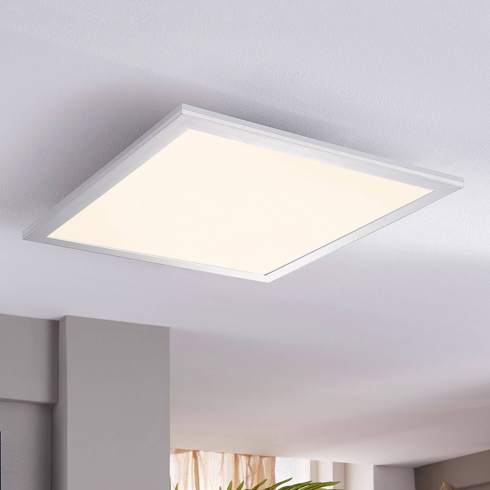 Lindby Livel LED-Panel, 4.000K, 40 cm x 40 cm von Lindby