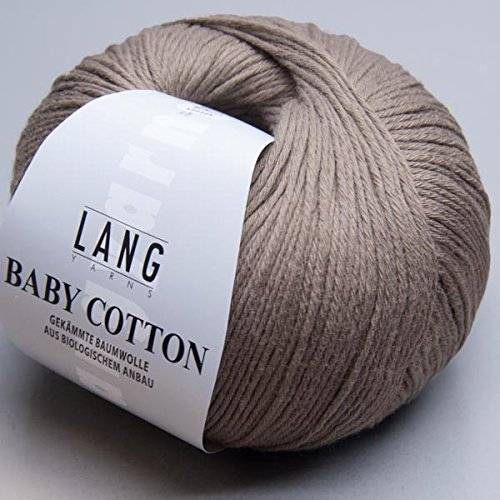 Lang Yarns Baby Cotton 0099 schlamm von Lang Yarns