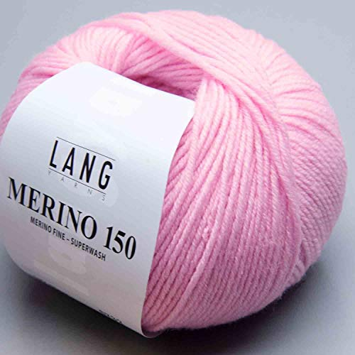 Merino 150 Superwash 0009 rosa von Lang Yarns