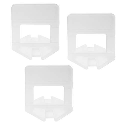 500 X Zuglaschen Fliesen Verlegehilfe Fugen 1 1,5 2 MM Nivelliersystem Laschen