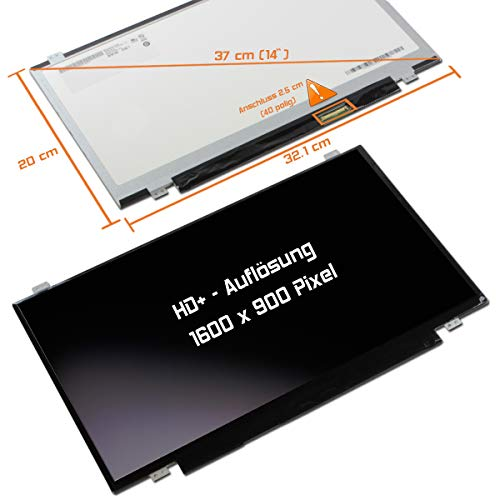 "Laptiptop 14,0"" LED Display matt passend für Lenovo ThinkPad T430s 2356-GDG 1600x900 Bildschirm von Laptiptop"