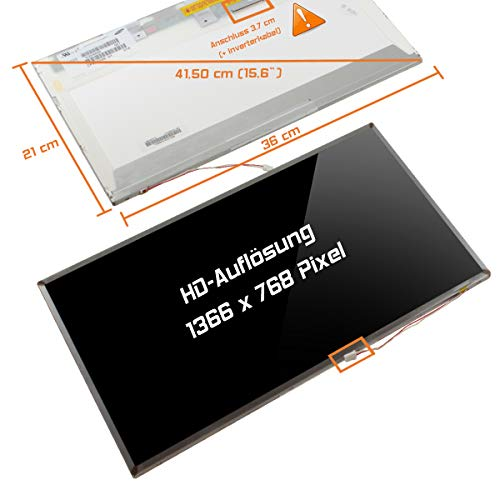 "Laptiptop 15,6"" LCD Display Screen 1CCFL Glossy Ersatz für Toshiba Psly5u-00q01t 1366x768 HD Bildschirm Panel von Laptiptop"