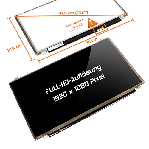 "Laptiptop 15,6"" LED Display Glossy passend für HP X7H89EA 30Pin Bildschirm Full-HD von Laptiptop"
