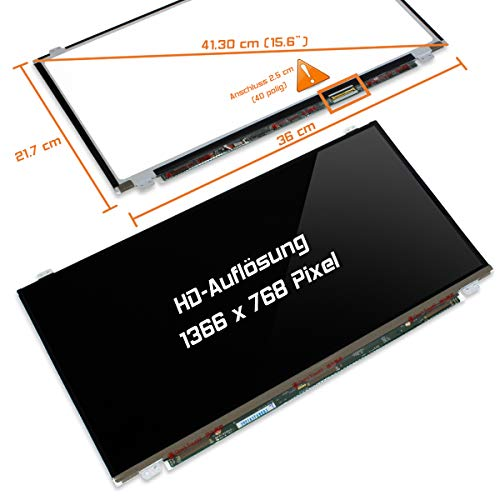 "Laptiptop 15,6"" LED Display Screen Glossy Ersatz für HP 15-R207nf 1366x768 HD 40pin Bildschirm Panel von Laptiptop"